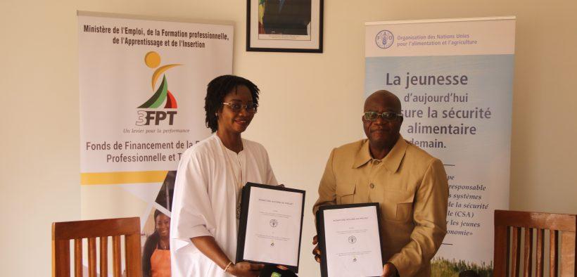 Photo 3 Fpt et Fao Programme Mija : 15 840 jeunes seront formés et 5000 entreprises créées dans le domaine agricole